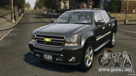 Chevrolet Avalanche Stock [Beta] para GTA 4