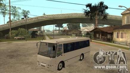 Bogdan A0921 turística para GTA San Andreas