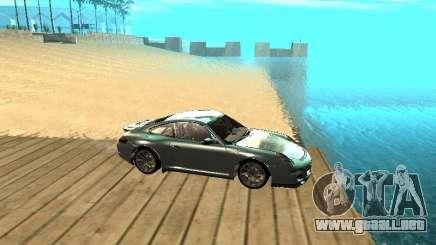 Porsche 997 GT3 RS silver para GTA San Andreas
