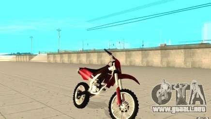 GTAIV Sanchez para GTA San Andreas