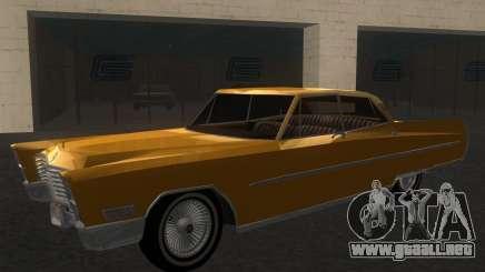 Cadillac Fleetwood Sixty Special 1967 para GTA San Andreas