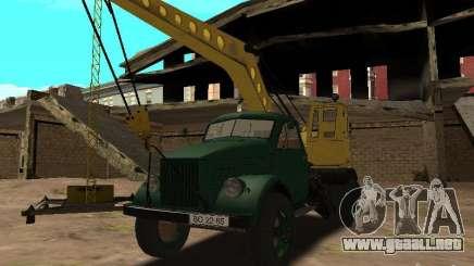 Grúa móvil de GAZ 51 para GTA San Andreas