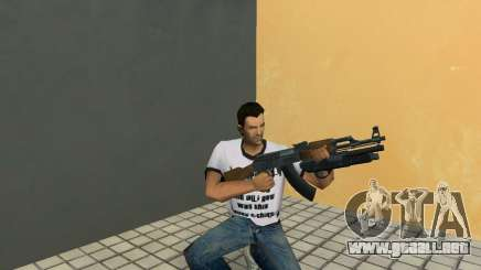 AK-47 con escopeta Underbarrel para GTA Vice City