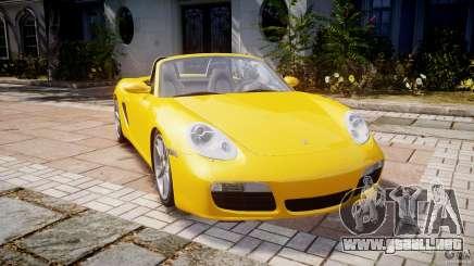Porsche Boxster S para GTA 4