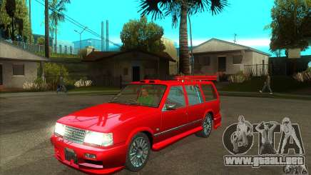 Volvo 945 Wentworth R with bodykit (1.2) para GTA San Andreas