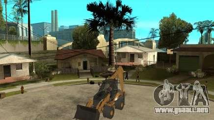 Lastik Tekerli Dozer para GTA San Andreas