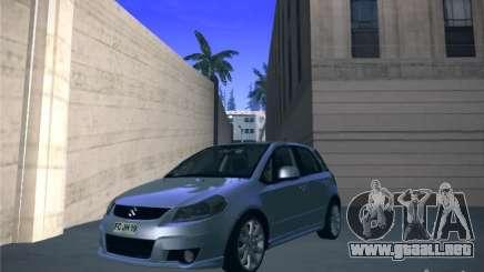 Suzuki SX4 2012 para GTA San Andreas