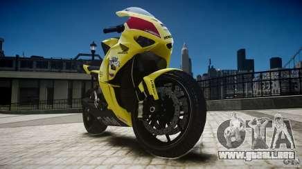 Honda CBR1000RR para GTA 4
