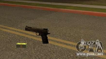 Pistola 9 mm para GTA San Andreas
