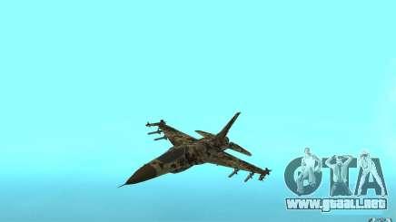 F16C Fighting Falcon para GTA San Andreas