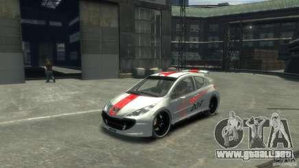 Peugeot 207 para GTA 4