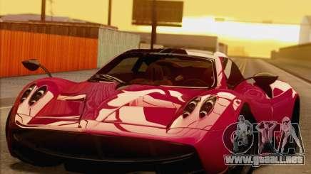 Pagani Huayra 2011 para GTA San Andreas