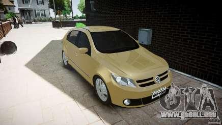 Volkswagen Gol 1.6 Power 2009 para GTA 4