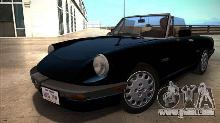 Alfa Romeo Spider 115 1986 para GTA San Andreas