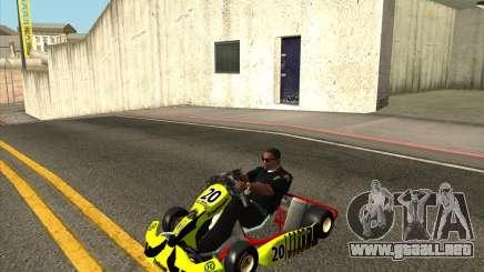Shifter kart Honda CR 125 para GTA San Andreas