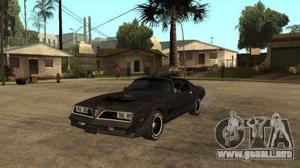 Pontiac Trans Am 1977 para GTA San Andreas
