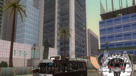 Trolebús LAZ-52522 para GTA San Andreas