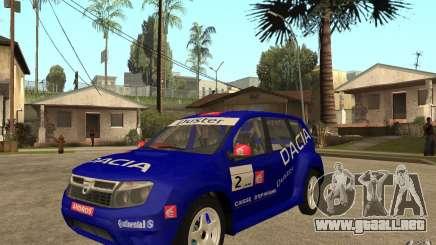 Dacia Duster Rally para GTA San Andreas