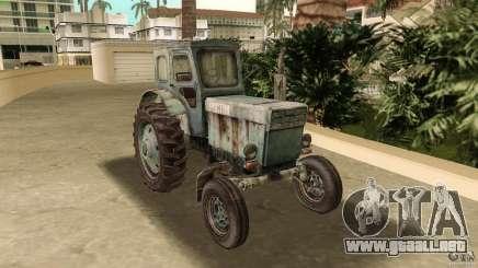 Tractor t-40 para GTA Vice City