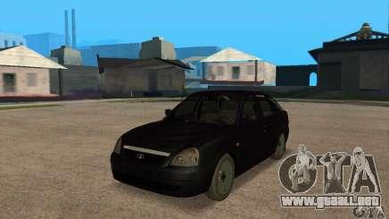 Hatchback LADA priora 2172 para GTA San Andreas