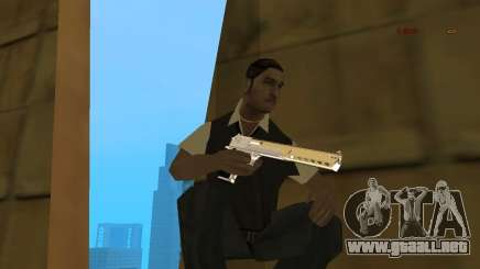 Chrome Desert Eagle para GTA San Andreas