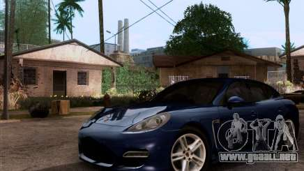 Porsche Panamera Turbo 2010 Final para GTA San Andreas