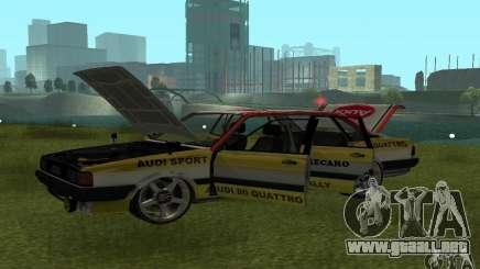 Audi 80 Quattro Rally para GTA San Andreas