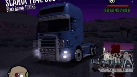 Scania 164L 580 V8 Black Beaunty para GTA San Andreas