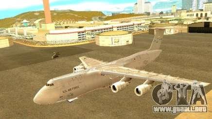 Lockheed C-5M Galaxy para GTA San Andreas