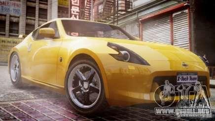 Nissan 370Z Final para GTA 4