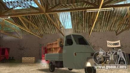 Ape Piaggio para GTA San Andreas