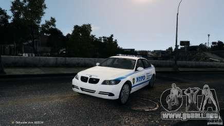 NYPD BMW 350i para GTA 4