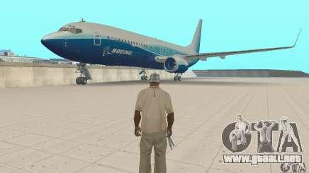 Boeing 737-800 para GTA San Andreas