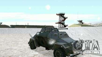 Vehículo blindado de juego tras las líneas enemigas 2 para GTA San Andreas