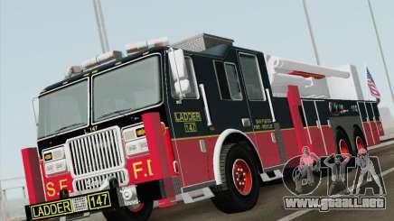 Seagrave Marauder II. SFFD Ladder 147 para GTA San Andreas