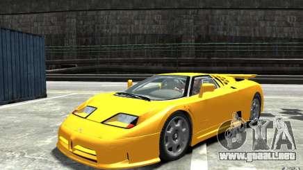 Bugatti EB110 Super Sport para GTA 4