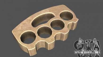 [Point Blank] Brass Knuckles para GTA San Andreas