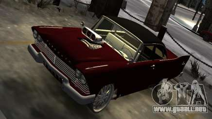 Plymouth Savoy Club Sedan 1957 Dragster Final para GTA 4