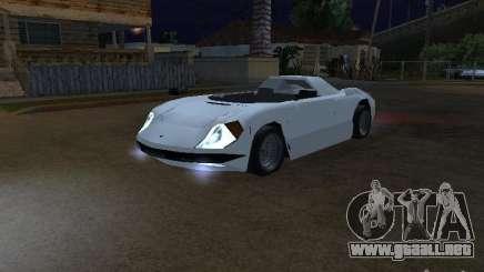 Cup Car para GTA San Andreas
