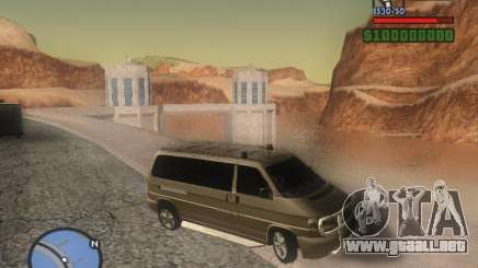 Volkswagen Multivan para GTA San Andreas