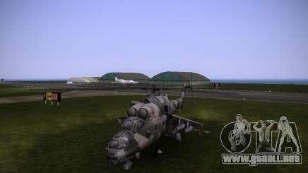 Mi-35 para GTA Vice City
