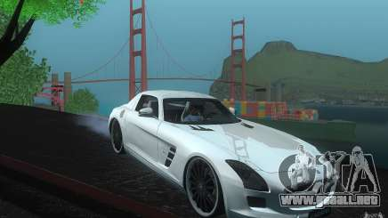 Mercedes Benz SLS HAMANN para GTA San Andreas