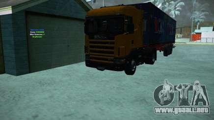 Scania 164L para GTA San Andreas
