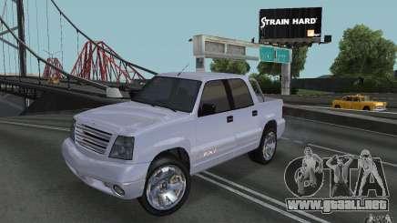 Cavalcade FXT de GTA 4 para GTA San Andreas