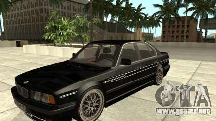 BMW E34 Alpina B10 Bi-Turbo para GTA San Andreas