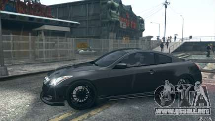Infiniti G37 Coupe Carbon Edition v1.0 para GTA 4