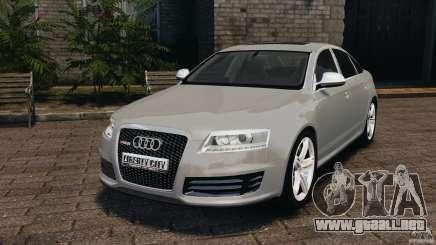 Audi RS6 2010 v1.1 para GTA 4
