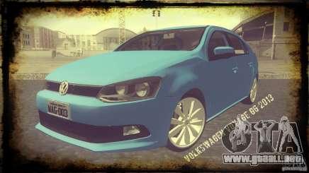 Volkswagen Voyage G6 2013 para GTA San Andreas