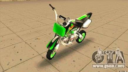 Kawasaki PitBike para GTA San Andreas