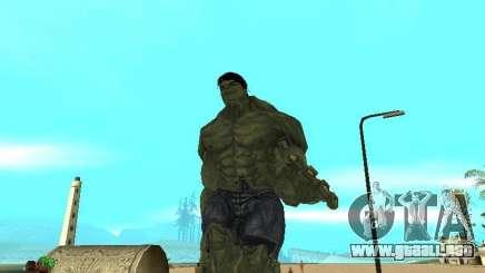 Hulk Skin para GTA San Andreas